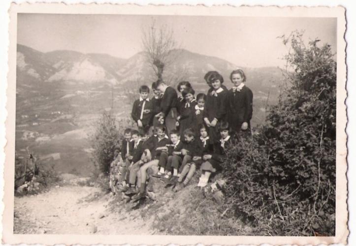 vezzolacca ( vernasca-italy) una classe nel 1961