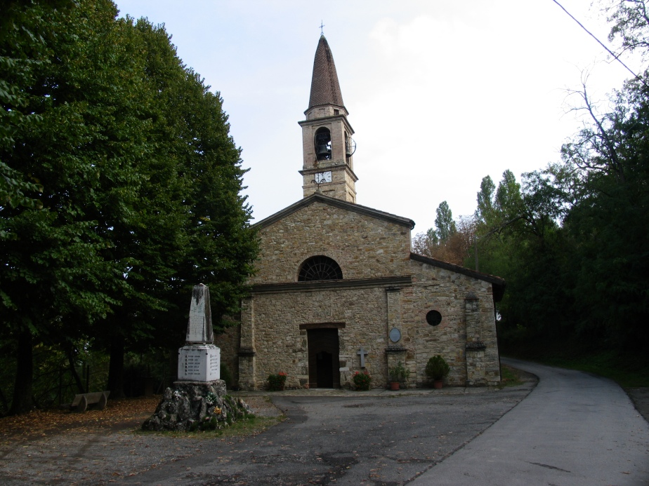 antica chiesa di veleja
