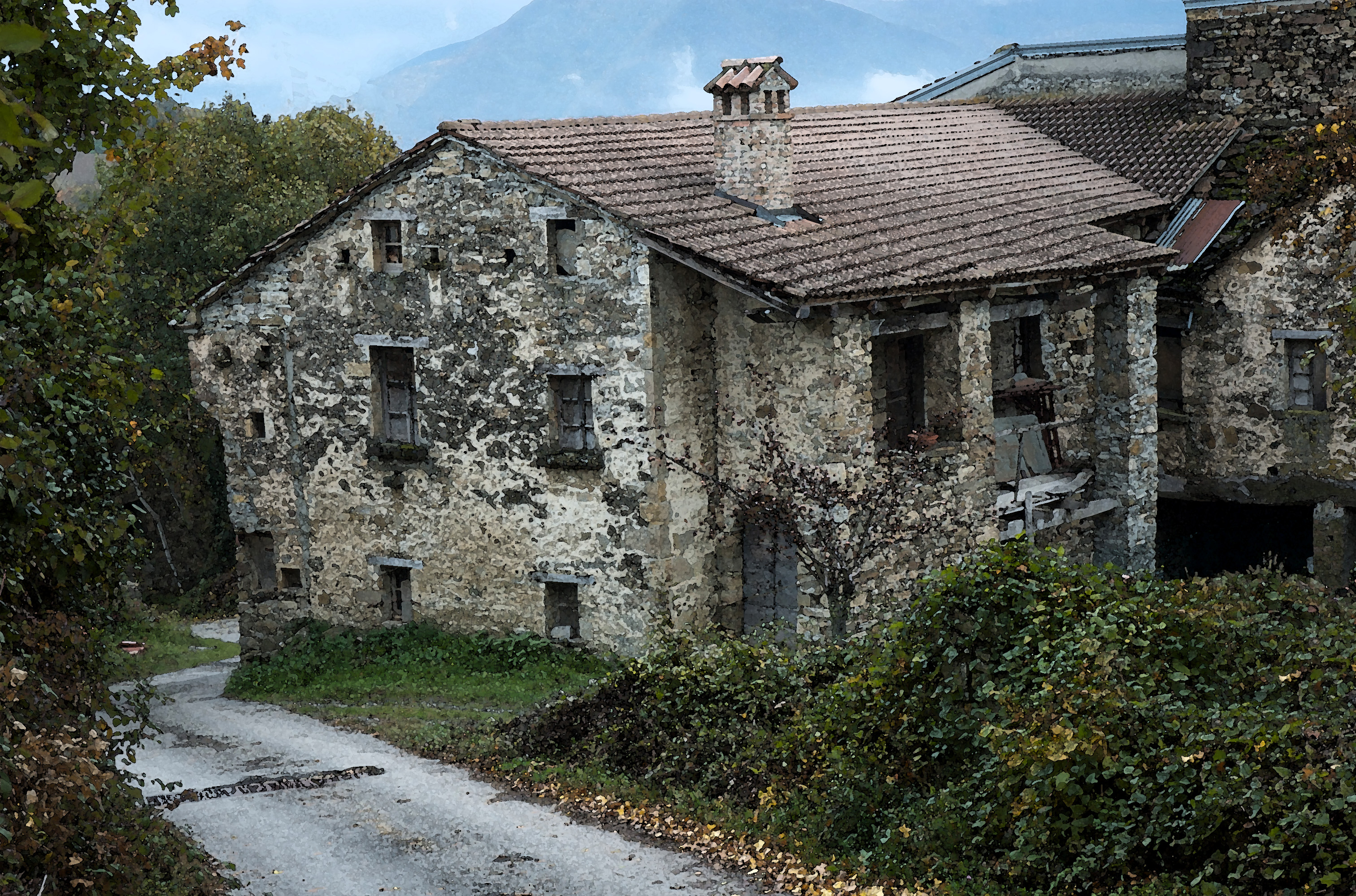 Case in sasso e in pietra valtolla 39 s blog ideato e for Piani di casa di montagna con seminterrato sciopero