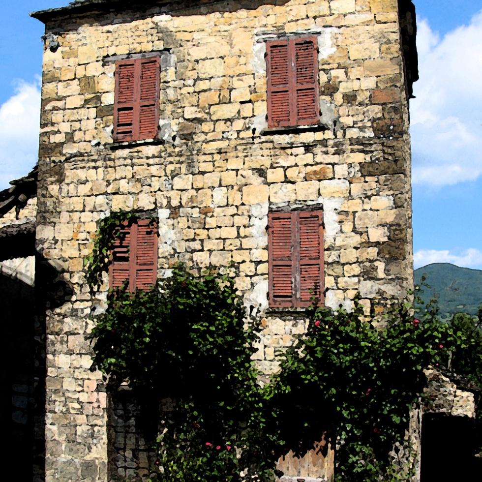 Case in sasso e in pietra terre della valdarda valtolla for Case in pietra e tronchi