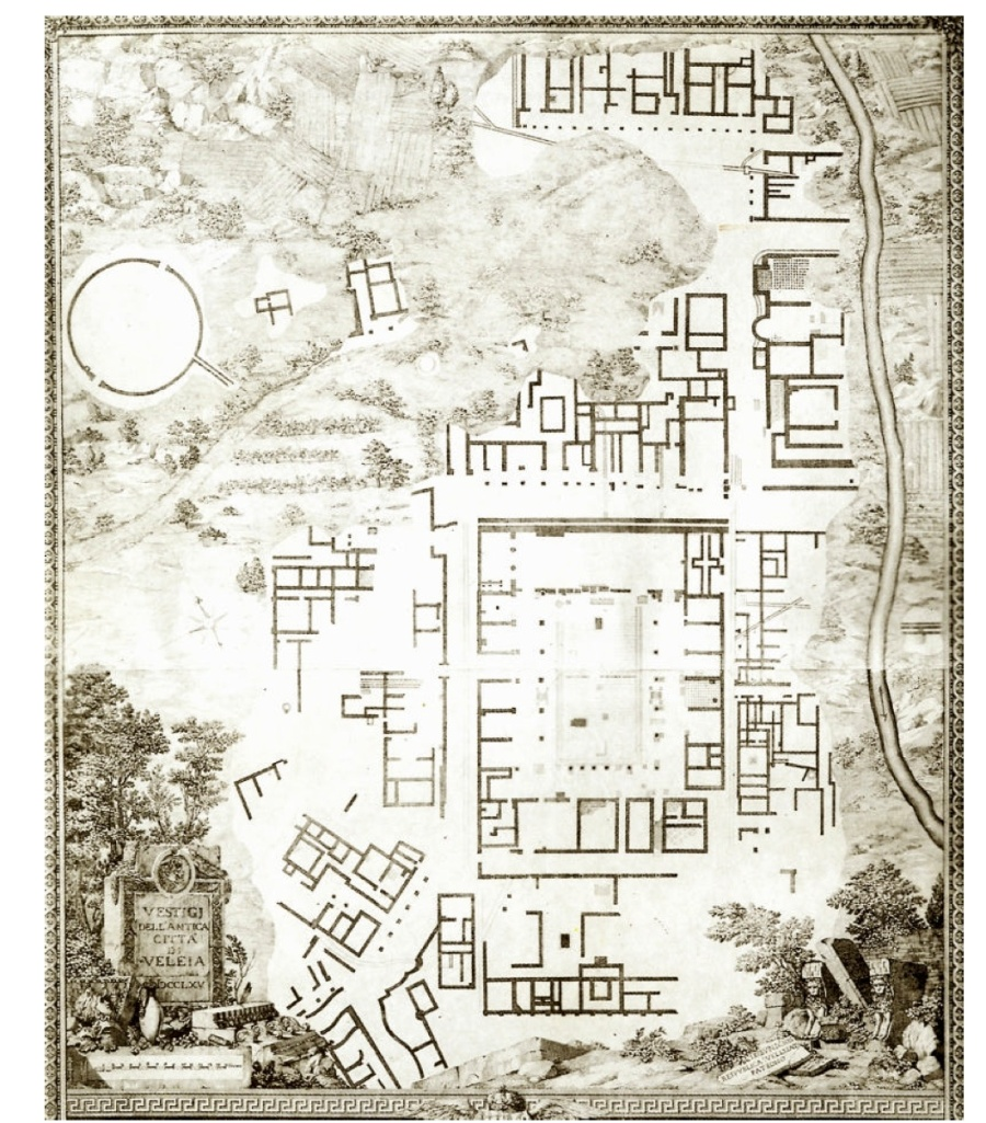veleia maps (clicca per ingrandire)