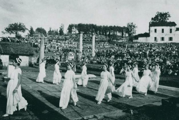 veleia teatro 1954 (clic per ingrandire)