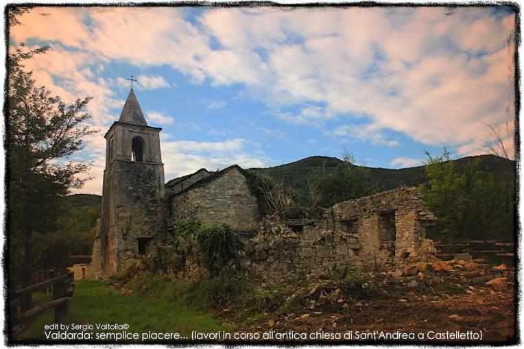 valdarda: semplice piacere...( lavori in corso all'antica chiesa di castelletto)