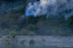 incendio alla diga di mignano (clic per ingrandire)