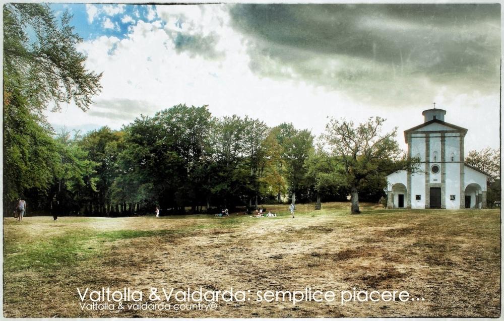 Santa Franca proteggi tutti i valdardesi in Italia e nel mondo(foto del santuario sul monte Santa Franca)