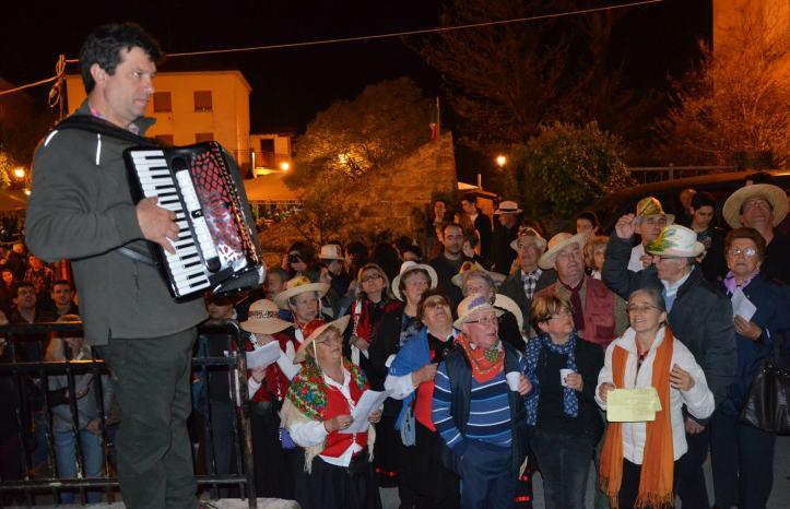 FRANCO E LA SUA FISARMONICA POPOLARE AL CANTAMAGGIO 2013