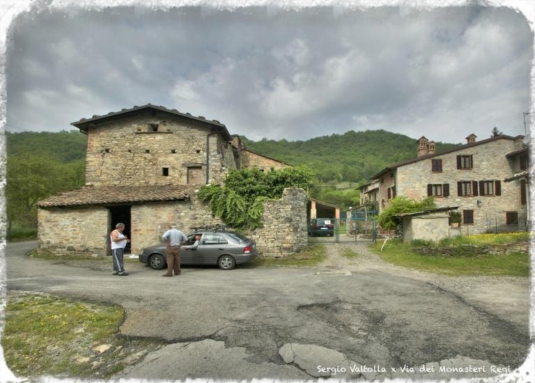 In attesa del passaggio dei pellegrini sulla via dei monasteri regi in Mignano di Vernasca