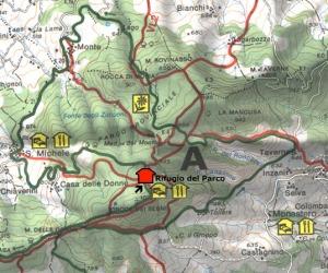 cartina parco monte moria