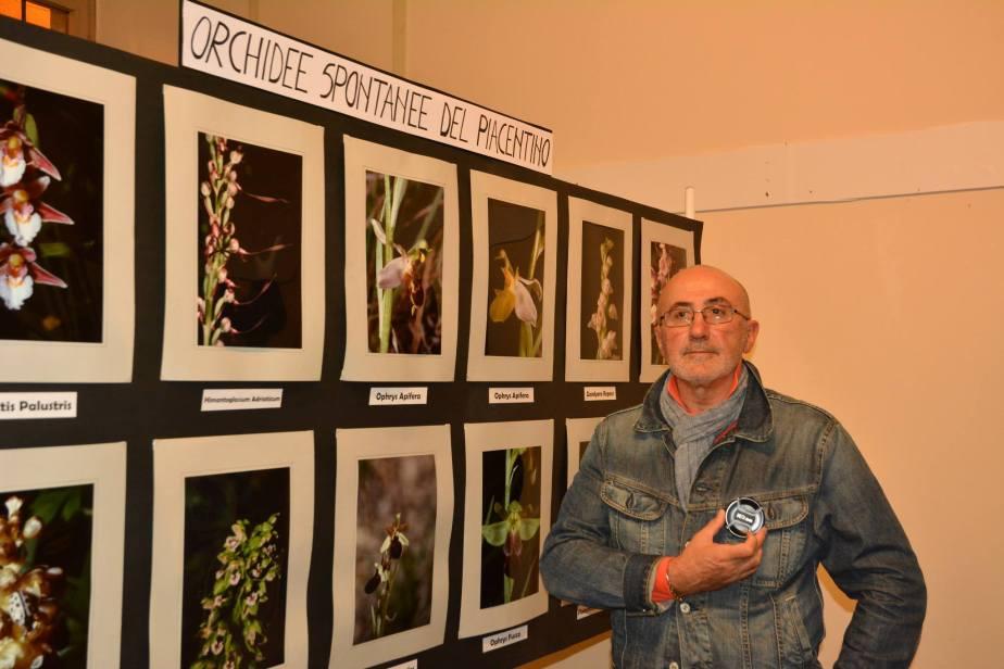 fiera fredda lugagnano Remo Schiavi espone le sue orchidee