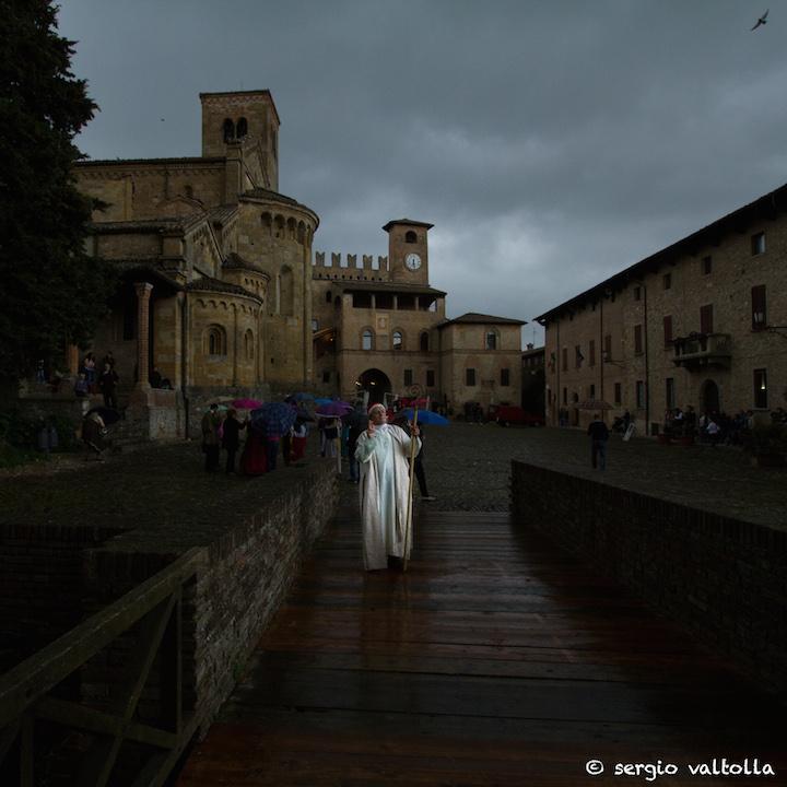 La resa di Castell'Arquato, l'arrivo di CarloMagno…