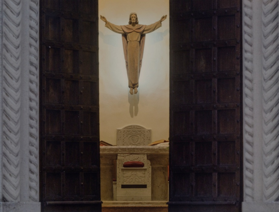 calendario 2015, parrocchia Santa Teresa ....cadeo, scan dal calendario. Foto originale di G.F. Negri