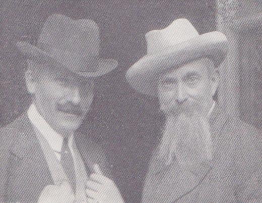 illica con toscanini nel 1918 2