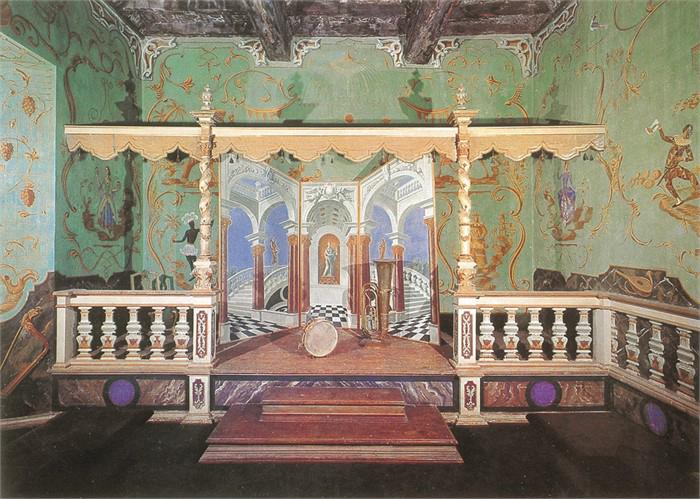 teatro interno al castello di vigoleno