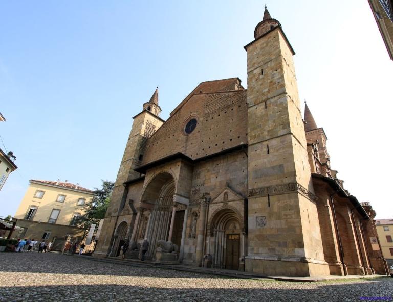 la cattedrale di Fidenza