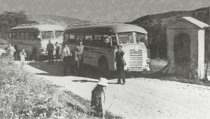 arrivo corriere a settesorelle 1960