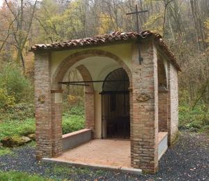 la cappelletta di san lorenzo dedicata a santa franca