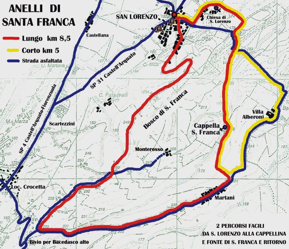 Castell'Arquato: il primo sentiero della devozione èfruibile…