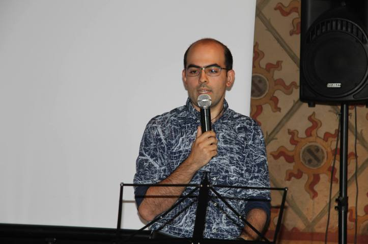Andrea Bergonzi, autore di un saggio sulla rivista