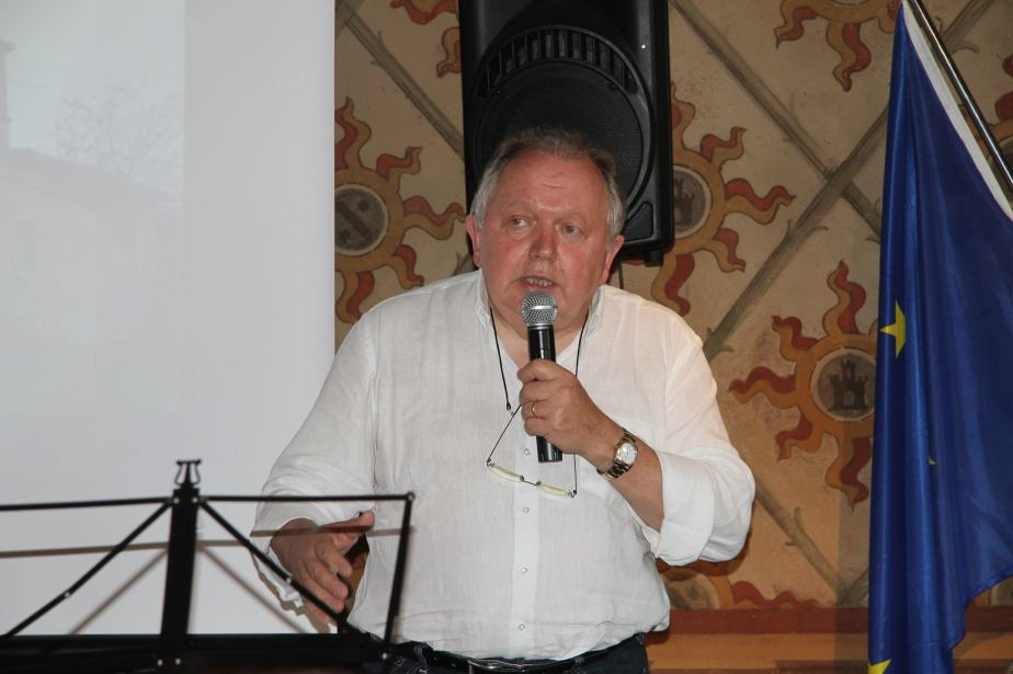 Giulio Gravaghi, autore di un saggio sulla rivista