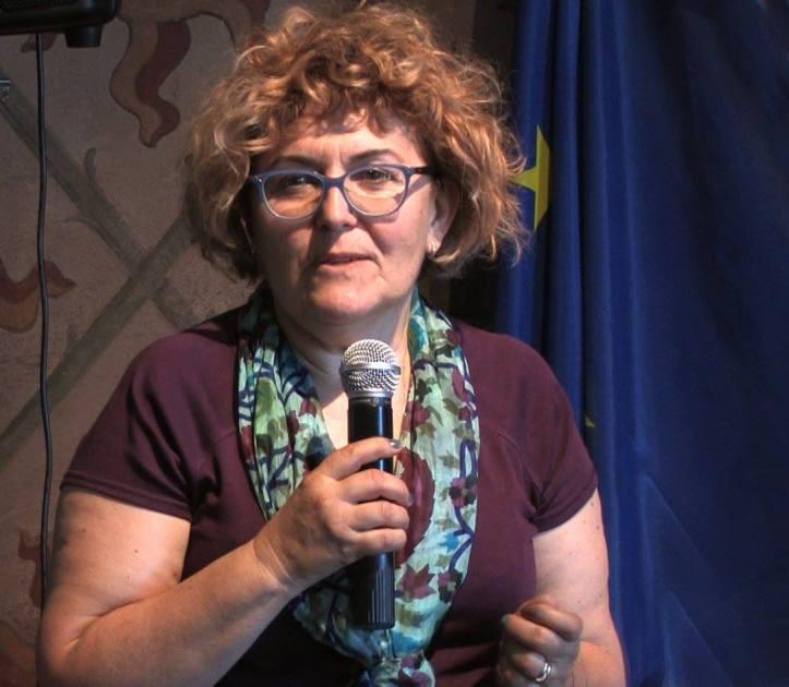 Maurizia Gentili autrice della copertina della rivista