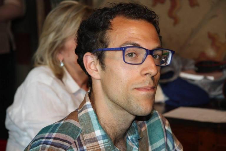 Simone Carini, autore di un saggio sulla rivista