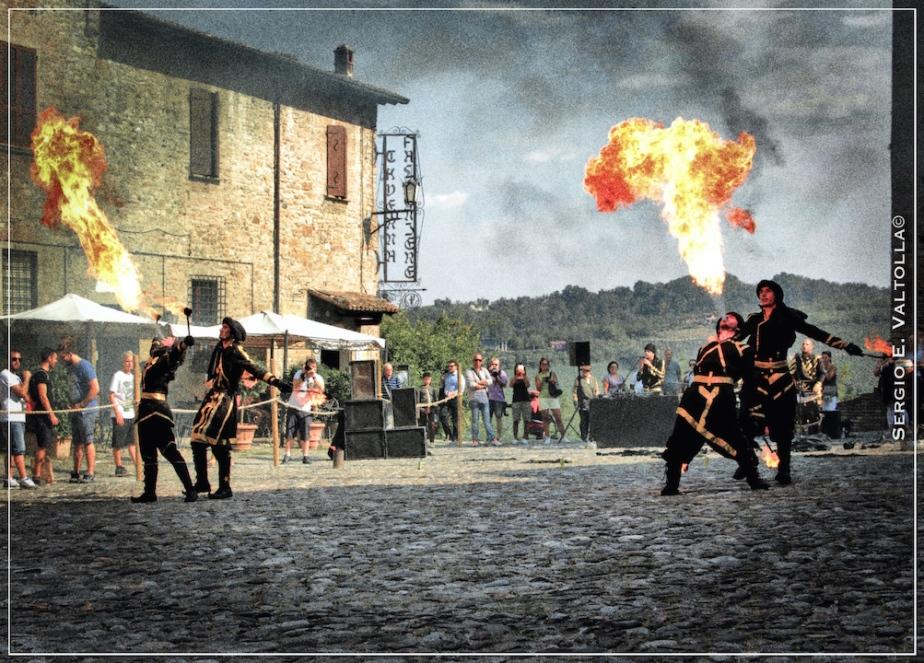 Castell'Arquato: quando lo spettacolo assume le sembianze dellastoria…
